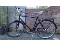 Bicycle Retro Look - Single Speed (1 gear only)