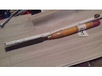Woodturning Skew Chisel. Chisel 3.