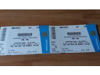 2x The The Matt Johnson tickets Barrowlands 4th Sept 2018