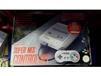 Boxed Super Nintendo Console