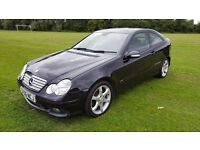 56 Plate Mercedes-Benz C Class C200 Kompressor Sport 3 Door Auto
