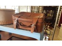 Brown leather case - Great condition