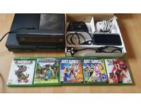 xbox one ,5 games and kinect
