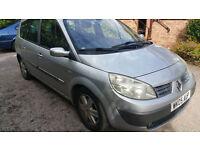 Renault Megane Scenic 2005 2Lt petrol automatic drives well but short MOT hence £225