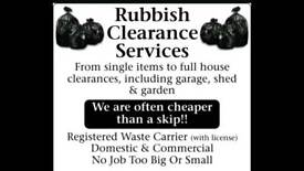 RUBBISH CLEARANCE WASTE HOUSE GARAGE GARDEN SHED PROBATE READING BERKSHIRE REMOVALS