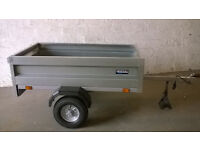 New 5 x 3 camping trailer