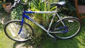 Stealth optima 18 speed grip shift mens bike sold for parts or repair