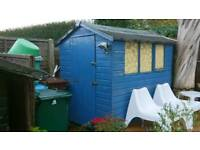 Wooden 7ft x 5ft Shed