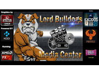 Codename Bulldog Gaming/media center pc over 800 games installed