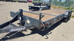 2017 Diamond C 45 HDT 20 Equipment Hauler Trailer