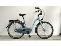 "(1715) 26"" 17"" B'TWIN DUTCH STYLE CITY COMMUTER BIKE BICYCLE Height:157-178cm"