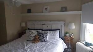 COTTAGE CHIC  CUSTOM HEADBOARDS/FOOTBOARDS RECLAIMED BARN BOARD RUSTIC