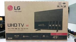 "49"" LG 4K LED Smart TV"