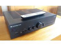 Cambridge Audio Amplifier - £300 New