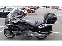 BMW K1200LT SE LUX MIDNIGHT BLACK WITH THE BEST PRIVATE PLATE MOT JULY 2017