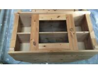 Pine TV Cabinet and Cupboard