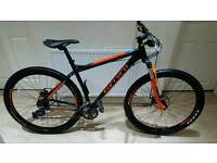 Fantastic 29er carrera sulcata mountain bike in good condition all fully working