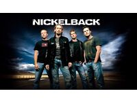 Nickelback - Sheffield Arena - 15/10/16. Blk 116 x 1 ticket