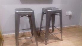 Set of 2 bar stools