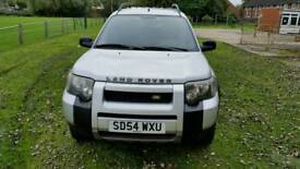 2004 LEFT HAND DRIVE FREELANDER TD4 CHAIN DRIVEN BMW DIESEL ENGINE WITH MANUAL GEARBOX