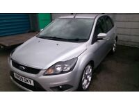 2009 FORD FOCUS 1.8 TDI TITANIUM 5DOOR HATCH SILVER MARCH 2019 MOT 130K ALLOYS CD E/W E/M. R/C/L +