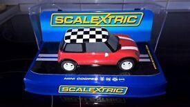 Scalextric Mini cooper Red