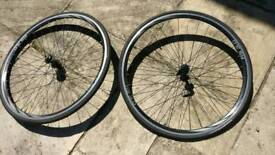 RS 3.0 front bike road wheel with tyre