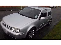 vw golf v6 4 motion mint condition 1 owner from new