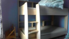 Bunk Beds with built in shelves