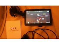 "7"" Sat nav GPS 109-s-UK-az model"