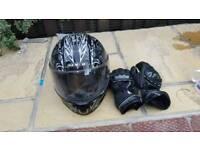 Spada motorbike helmet