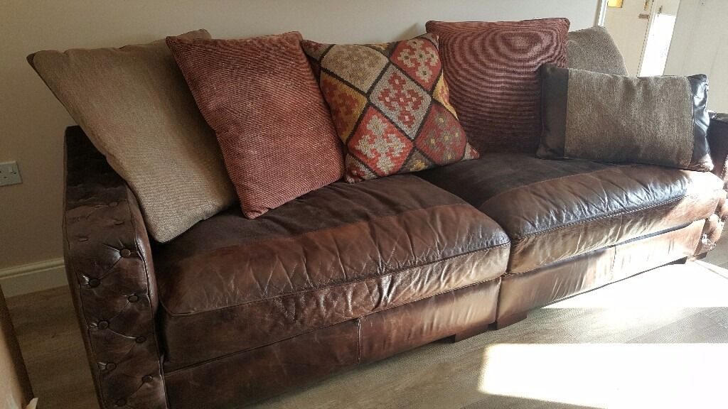 Barker And Stonehouse Laurence 4 Seater Sofa And Lovseat