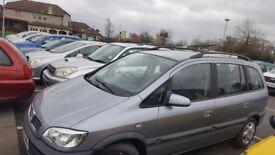 7 SEATER Vauxhall Zafira SRI 1.8 Petrol !