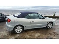 renault megane convertible 1999 only 1 owner full service history £550
