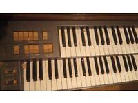 Farfisa f200 organ - FAULTY please read