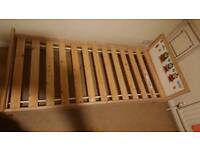 Toddle ikea bed with mattress