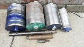 Core Drill Bits set