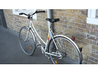 Peugeot Carbolite fixed gear town bike