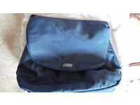 BRAND NEW Mamas and Papas Shoulder Insulated Bottle bag & Changing Bag - Blue