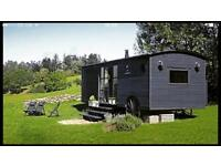 Carriage Style Holiday Home Caravan With Lake View.