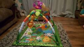 Fisher price light and sounds playmat