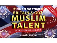British Muslim Talent Show Requires Contestants - Singers, Comedians, Magicians, Performers