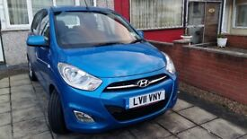Hyundai i10 1.2 Active 5drAUTOMATIC LOW MILAGE HPI Clear