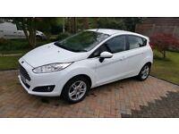 Ford Fiesta, 5 Door, 1.2 Petrol, Arctic White.