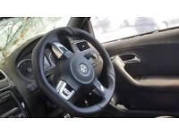 2013 VW POLO R LINE FLAT BOTTOM STEERING WHEEL