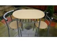 Metal table&chair