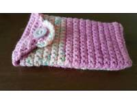 Handmade crochet phone case