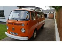 1974 VW T2 Bay Campervan - £12,750