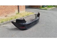 Back bumper original black with sensors fit fod mondeo reg from 2007 to 2013