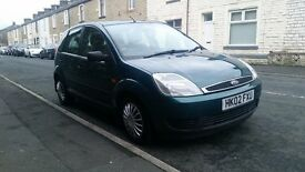 FORD FIESTA 5 DOOR PETROL P/X WELCOME